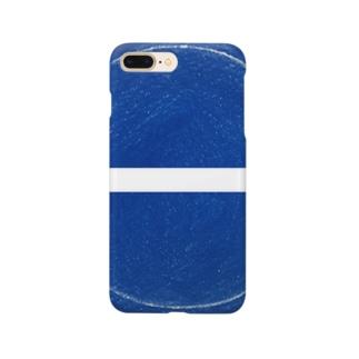不思議な青丸 Smartphone cases