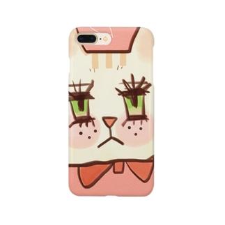 ドキドキ猫ちゃん Smartphone cases