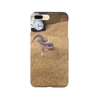 レオパのケース Smartphone cases