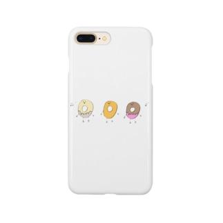 唄うドーナッツ Smartphone cases