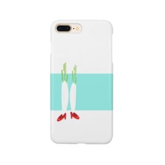 だいこん Smartphone cases