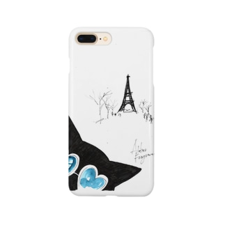 With the Eiffel Tower in the background Smartphone cases