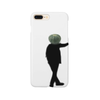 かぼちゃまん Smartphone cases