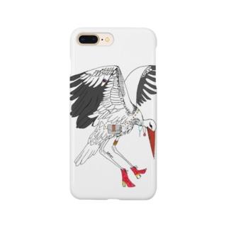 fashionable birds Smartphone cases