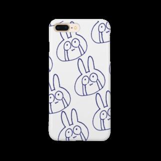 月河ナイのめっちゃ泣くやんこのうさぎA Smartphone cases