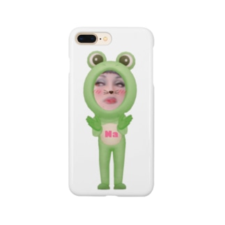 WATABO- LIFEのNa ちゃんカエルバージョン Smartphone cases