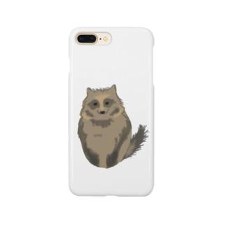 たぬー Smartphone cases