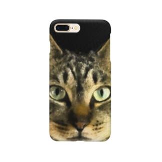 猫のリク君 Smartphone cases