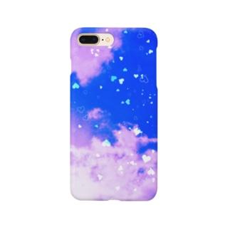 ブルーハート Smartphone cases