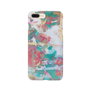 抽象絵画 Smartphone cases