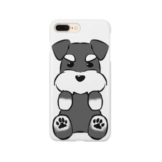 ミニチュアシュナウザー Smartphone cases
