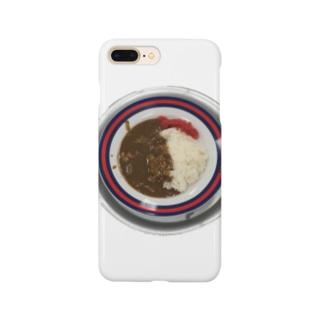 学食のカレー Smartphone cases