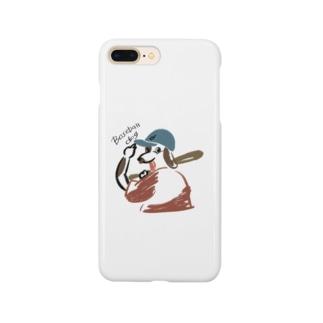 野球少年DOG スマートフォンケース