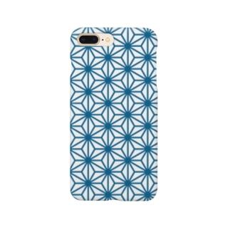 ウォレットケース専用デザイン 六角さん Smartphone cases