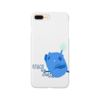 チョウチンアンコウくん Smartphone cases