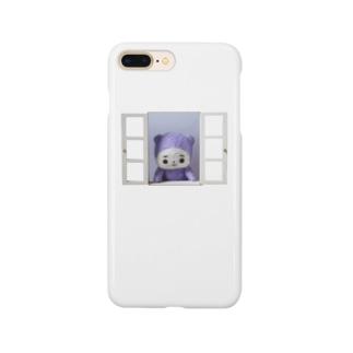 窓からバーンとうちの子 Smartphone cases