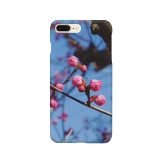 つぼみ Smartphone cases
