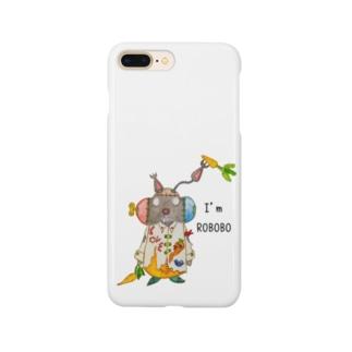ROBOBO 「まーぶるロボ」ウサギ スチームパンク Smartphone cases
