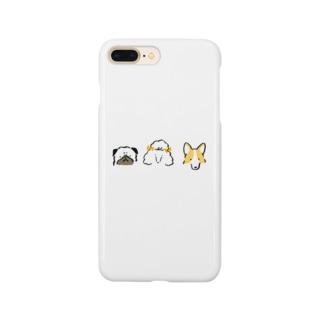 わんわんわん Smartphone cases