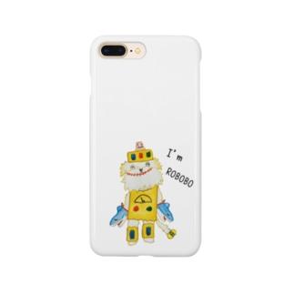 ROBOBO「シェリーロボ」 Smartphone cases