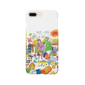 グシャグシャの部屋 Smartphone cases