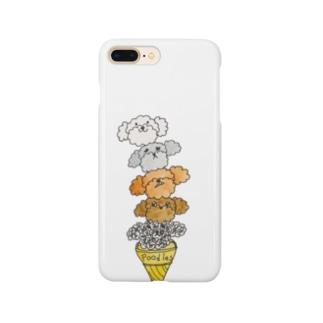 プードルズ アイスクリーム Smartphone cases
