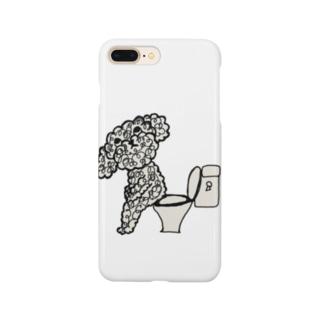 プードル モジャ男 Smartphone cases
