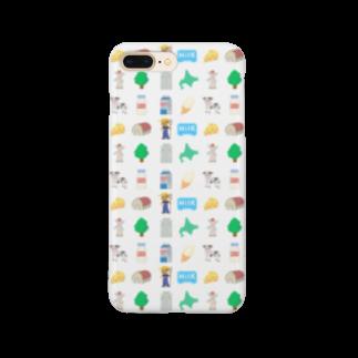 牛乳だいすき!のMilk project!_ver2 Smartphone cases