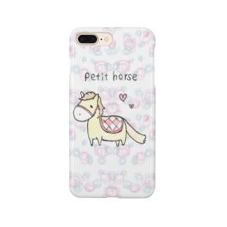 ペティーホース Smartphone cases