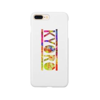 キョロスマホケース(レインボー) Smartphone cases
