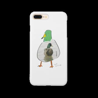 TORISUKIのカモかもしれない Smartphone cases