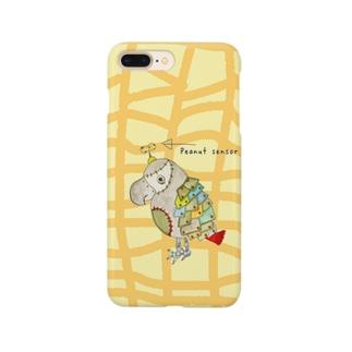 ROBOBO 福ちゃんロボ ピーナッツ柄 Smartphone cases