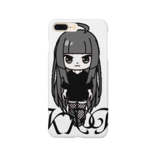 きくこモノクロシリーズ Smartphone cases