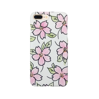 cherry blossom 桜 Smartphone cases
