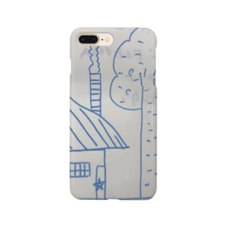 聖委員長のイラスト Smartphone cases