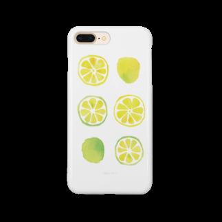 カラシソエルの柑橘類 Smartphone cases