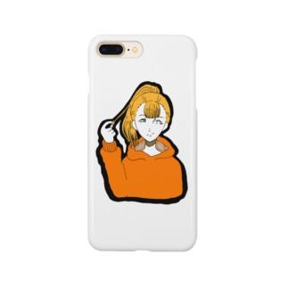 るーと。:°ஐ*。:°ʚ♥ɞ*。:°ஐ*のポニテ Smartphone cases