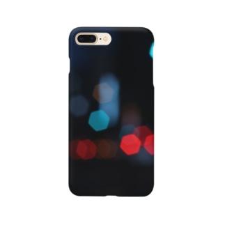カラフル六角形 Smartphone cases
