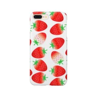 いちごちゃんず3 Smartphone cases