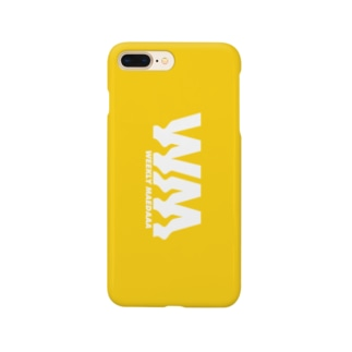 iPhoneのカバー(Yellow) Smartphone cases