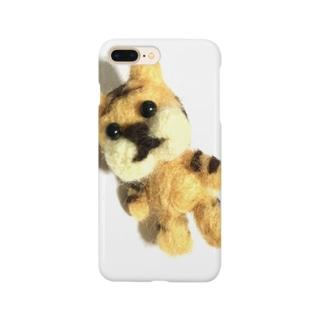 羊毛とらフェルトさん Smartphone cases