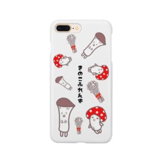 きのこふれんず Smartphone cases