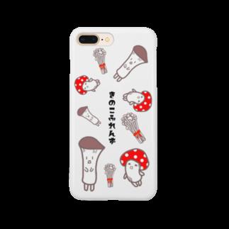 BiB handmadeshopのきのこふれんず Smartphone cases