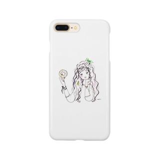 おやつ誘惑ガール Smartphone cases