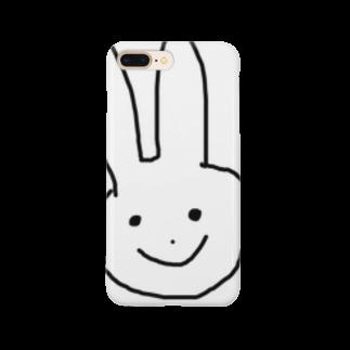 ke3510のウサギ Smartphone cases