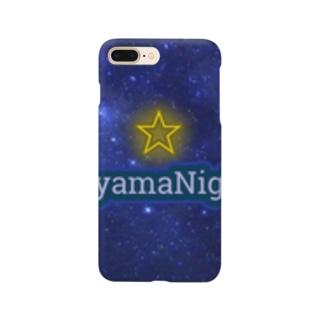 青山Nights®ビジネスロゴ Smartphone cases