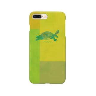 Love Turtle モザイクライム スマートフォンケース
