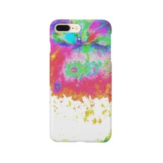Unpleasant apple No.1 【不味そうなりんご】 Smartphone cases