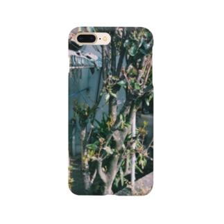 廃屋と春 Smartphone cases