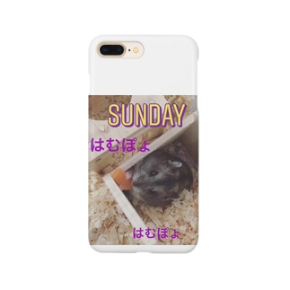 はむぽょ Smartphone cases